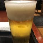 観世水 - 生ビール  750円