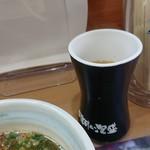 82713117 - 割スープつけ麺と同時に配置。