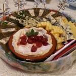 サロンド・テ・チーズ王国 - チーズプラトー