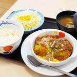 松屋 - 料理写真:ロールキャベツ定食