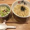 中華蕎麦 時雨 - 料理写真:青唐辛子酸辣雉つけ蕎麦