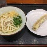 大島うどん - 素うどん & 揚げ物 コレって香川県では最もポピュラーな頂き方