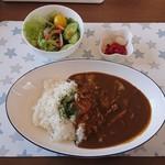 軽食&喫茶 悠里 - 料理写真:カレーライスランチ