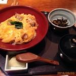 82719469 - 奥久慈卵と日南鶏の親子丼¥1,250
