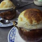 ポパイ - 料理写真:壺入りきのこスープ