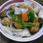 なごみ - 酢豚。1000円。中華不動の人気メニュー。