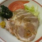 なごみ - 醬油煮チャーシュー。500円。