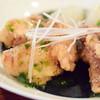 aunt MIMI - 料理写真:赤魚のから揚げ アオサ海苔餡掛け@税込1,080円