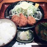 豚珍館 - 千葉県産いもぶたヒレ定食130g