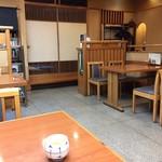 薮伊豆総本店 - お店の様子です。