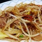 82721680 - 野菜炒めライス