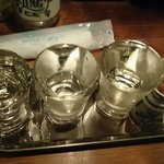 82724012 - 日本酒利き酒セット 3種類