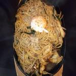魚神 魚魚炉 - 温玉焼きそば690円