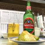 粥麺専家 香港バル213 - 青島ビール
