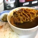 粥麺専家 香港バル213 - 香港風モツカレー