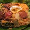 アプサラ レストラン&バー - 料理写真:スリランカカレーのバナナリーフ包み