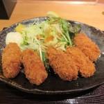 魚蔵 ねむろ - 北海道産牡蠣フライ
