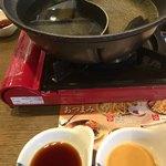 夢庵 - 料理写真:ランチ豚しゃぶ食べ放題の開戦前(2018.03現在)