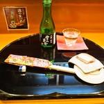 寿し久 - 冷酒(雪の茅舎 純米)