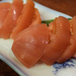 やきとり 吉野 - 冷やしトマト 290円