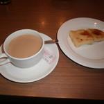 姫沙羅 - カフェオレとフレンチトースト