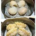 82733035 - 海老餃子・フカヒレ餃子