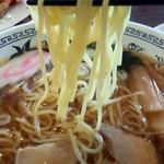 ゆ~シティー蒲田 - 麺は独特の食感・・・ちょっと大げさな表現あり^^;
