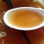 ゆ~シティー蒲田 - スープは薄茶色の安心な味わい