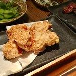 """とりのほまれ - 地鶏の""""塩""""唐揚げ 780円"""