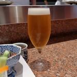 芦屋天がゆ - 生ビール