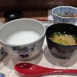 芦屋天がゆ - 粥、汁