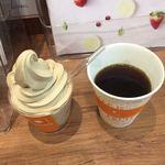 カフェファディ - 料理写真:珈琲とコーヒーソフト