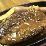 ハング ジュニア - 手ごねの、しっかり肉を味わえる美味しいハンバーグ!(2018.3.20)