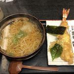 82740046 - 天ぷら蕎麦エビ1匹¥1,050