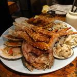 kitanokaisenaburinoanohakobune - まずは海鮮