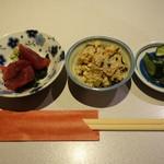 まぐろ屋 - ランチ(850円)の小鉢