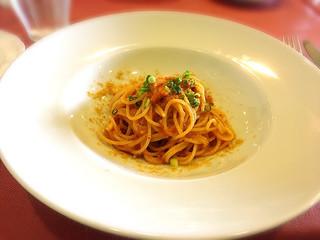 ジラソーレ - ウニのスパゲッティ  量が少ないかなーと思ったけど丁度よかったです