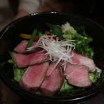 米沢牛黄木 - 極とろ炙り丼