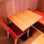 とりいちず - テーブル1〜2名様★カップルやデートなどにも最適です☆