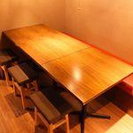 とりいちず - テーブル4〜6名様★少人数の宴会にピッタリなテーブルもご用意◎