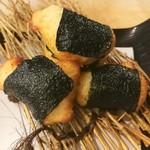 本物の自然薯(じねんじょ)の磯辺揚げ