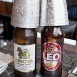 キンカーオ - シンハービール リーオービール