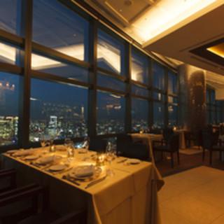 【天空のレストラン】地上215mからのパノラマビュー