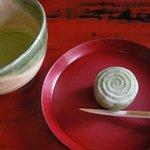 8275812 - 「上生菓子とお抹茶のセット」