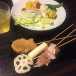串カツ居酒屋 六明館 -