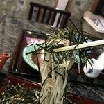 慶元流 - 海苔の湖の中からお蕎麦が海苔を、口の中まで引き連れてやってくる感じですかね?