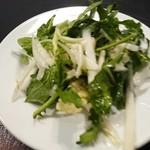 マガッヅィーノ - 自家栽培無農薬野菜のサラダ