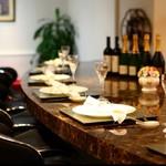 幸せ中国料理 ローズ上海 - 広いカウンター席