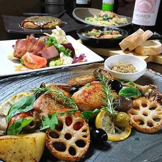野菜からお肉まで、京都ならではの地元食材を味わい尽くす◎