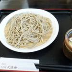 久保田 - もり蕎麦 500円